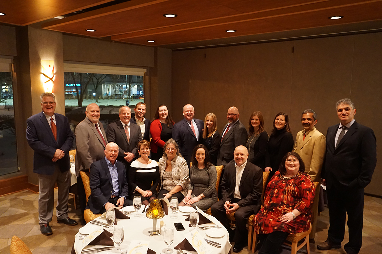 the bcc team is comprised of professionals with offices along the east coast and the annual company holiday party provides a wonderful opportunity for the